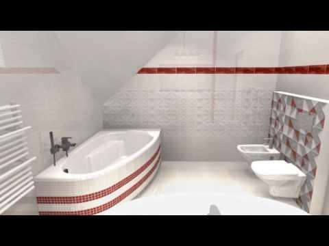 Aranżacja łazienki Opoczno Delicate Lines