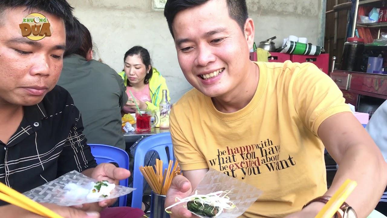 Khương Dừa dẫn Tâm xe ôm đi ăn bò lá lốt, bánh xèo mừng chiến công bán vé số!!!