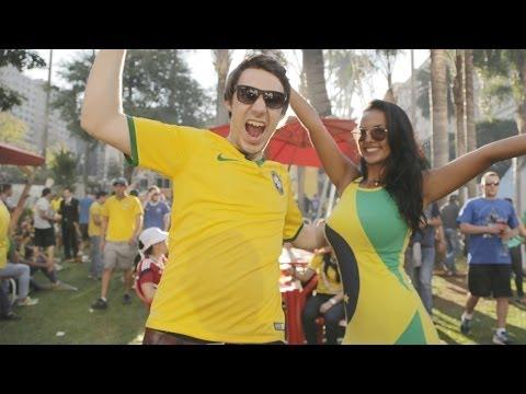 Brasil Goes NUTS!!! | Hyundai FIFA World Cup™ Taxi