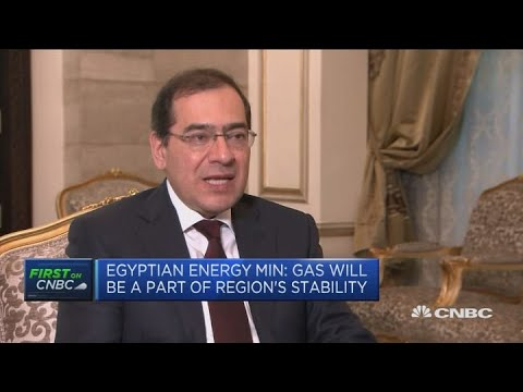 Egypt and its neighbors will benefit economically from gas, Egyptian minister says