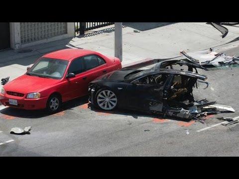 Self Driving Tesla Vehicle Kills Passenger In Car Crash