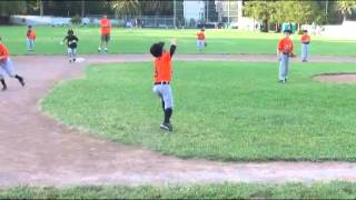 Unassisted Triple Play by 6 Year Old - Trevor