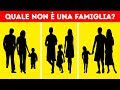 Test Psicologico: Indovina Quale di Queste Non È una Famiglia