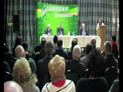 North & East Antrim rally for Sinn Féin leaders