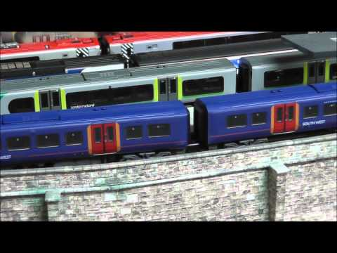 Model Railroad Toy Train Track Plans -Great Planning For Farish N Gauge Class 450 South West Trains with DCC Sound