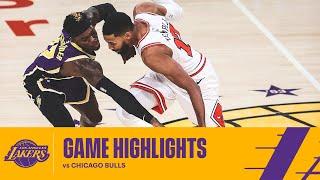 Los Angeles Lakers Highlights Vs Chicago Bulls