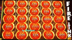★ 25 FIRE BALLS WON! ★ ULTIMATE FIRE LINK slot machine BONUS WINS!