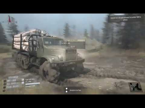 spintires mudrunner ps4 gameplay log transport youtube. Black Bedroom Furniture Sets. Home Design Ideas