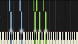 Ben Cocks - So Cold [Piano Tutorial] (Synthesia)