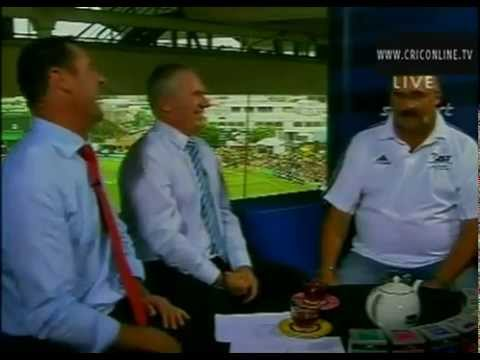 Merv Hughes Javed Miandad Sledge Fat Bus Driver Ticket Please Video -- Cricket Online TV.flv