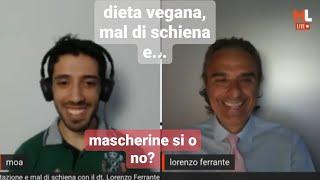 not only... alimentazione, mal di schiena con Lorenzo Ferrante