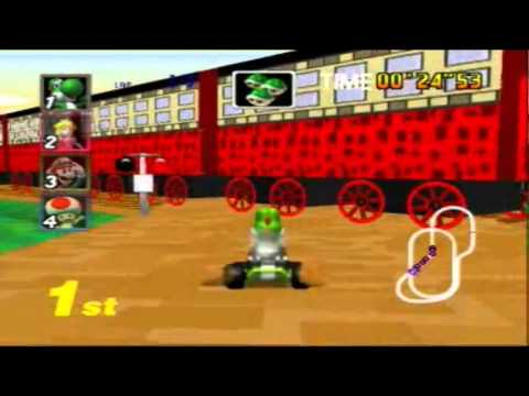 New Mario Kart 64 Game Mod Paper Island Coming Soon