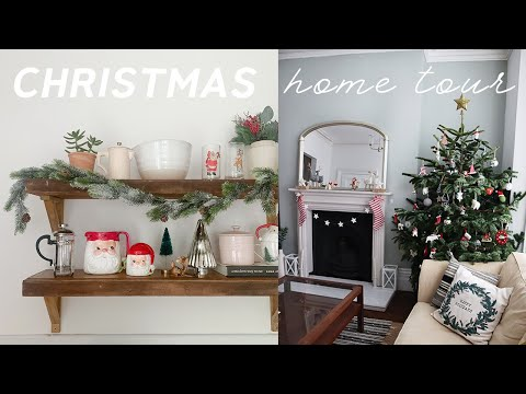 Christmas Home Tour 2019 🎄Thrifted and Budget Christmas Decor Ideas