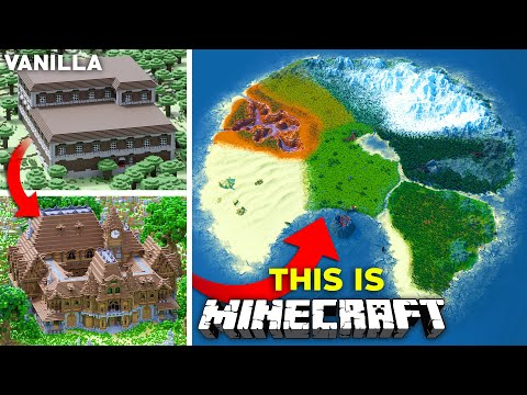 Upgrading The ENTIRETY of Minecraft - The ULTIMATE Survival World   Part 3