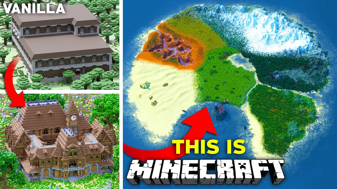 Download Upgrading The ENTIRETY of Minecraft - The ULTIMATE Survival World   Part 3