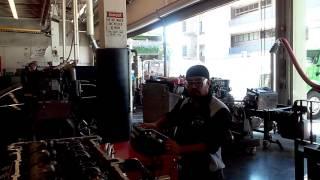 dd13 overhead job valve adjustment and engine brake