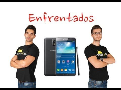 Enfrentados por el Samsung Galaxy Note 3