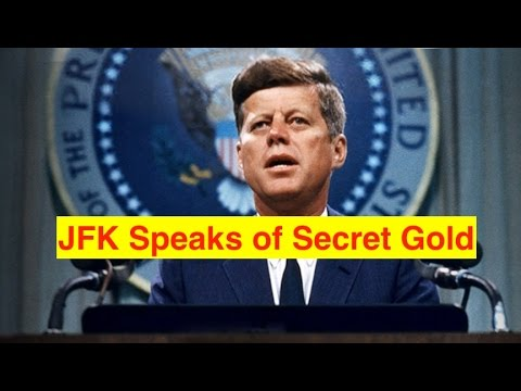 JFK Speaks About Gold and Silver Conspiracies (Bix Weir)