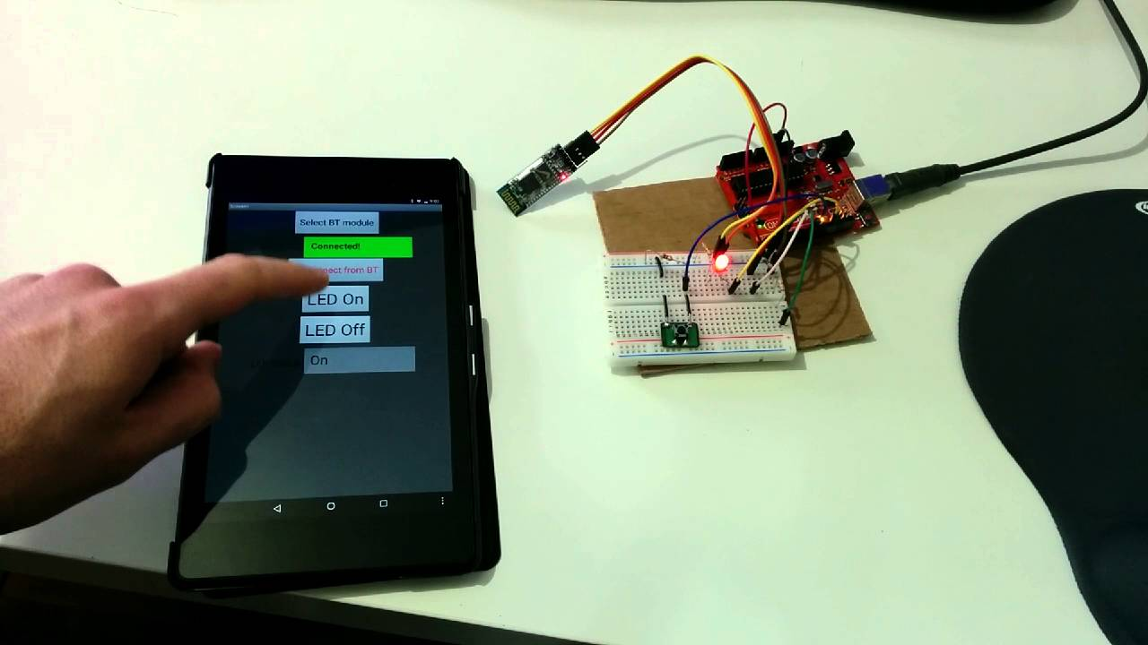 Mit app inventor bluetooth tutorial project arduino and
