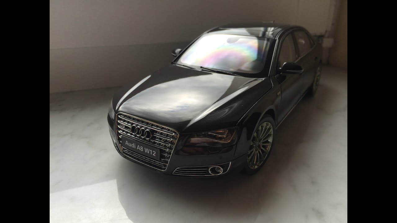 Superieur Audi A8 W12 Kyosho 1:18 Diecast Model Car   YouTube