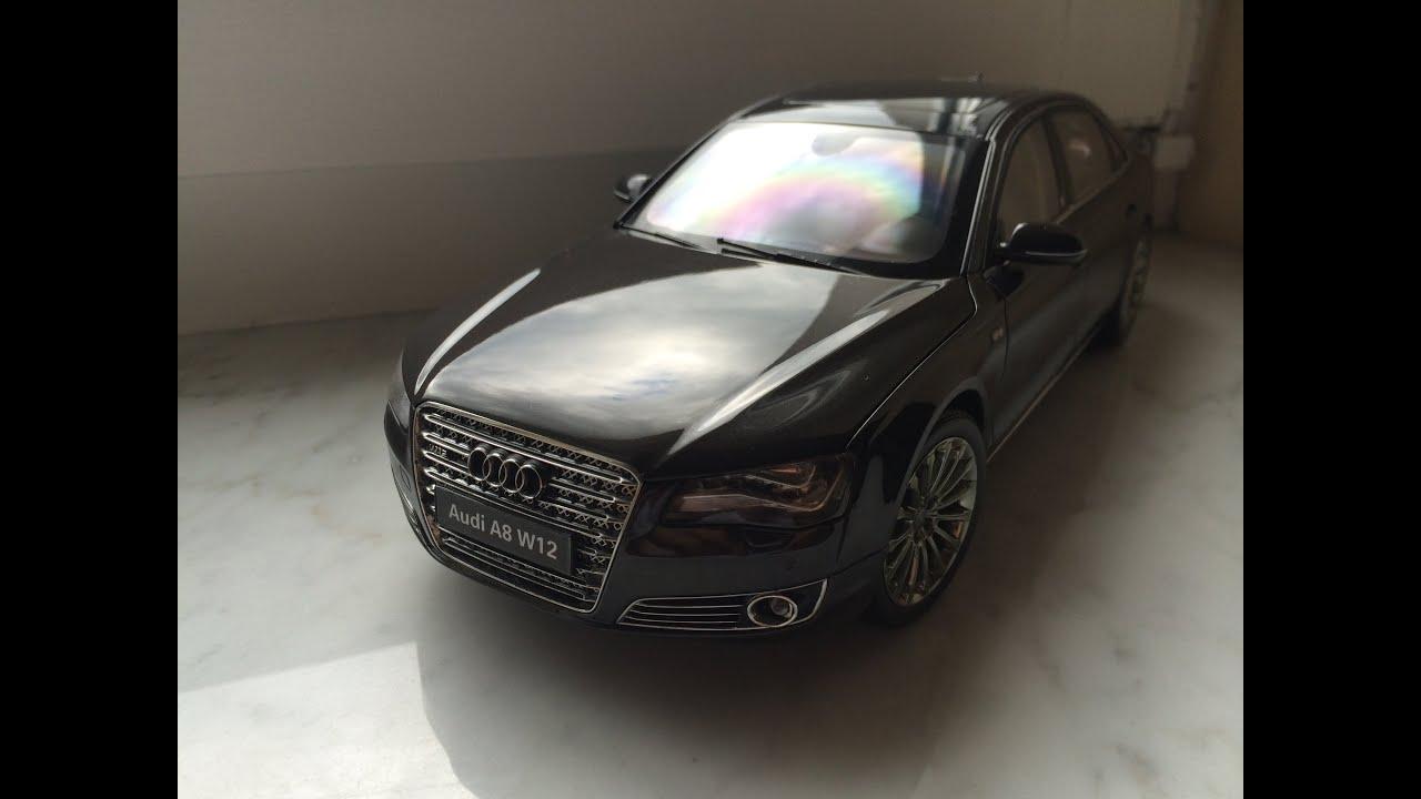 Audi A8 W12 Kyosho 1:18 Diecast Model Car   YouTube