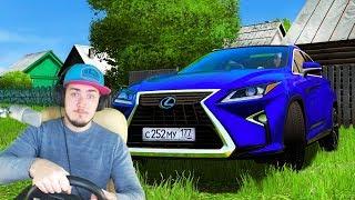ЕДУ К БАБУШКЕ В ДЕРЕВНЮ - City Car Driving + РУЛЬ
