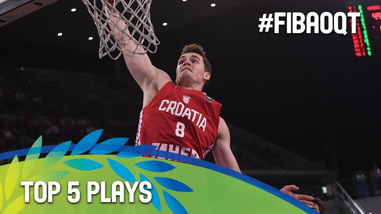 Top 5 Plays - Day 4 - 2016 FIBA Olympic Qualifying Tournament