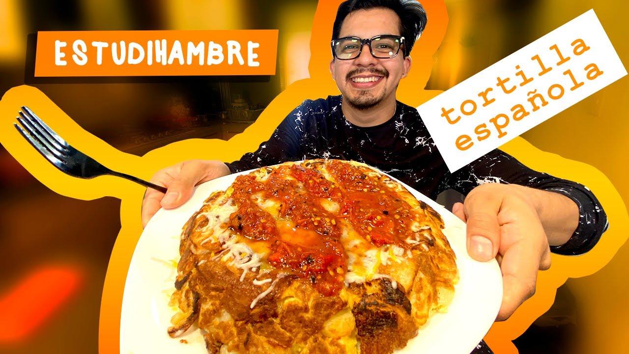 ESTUDIHAMBRE - Cómo hacer Tortilla Española Tradicional