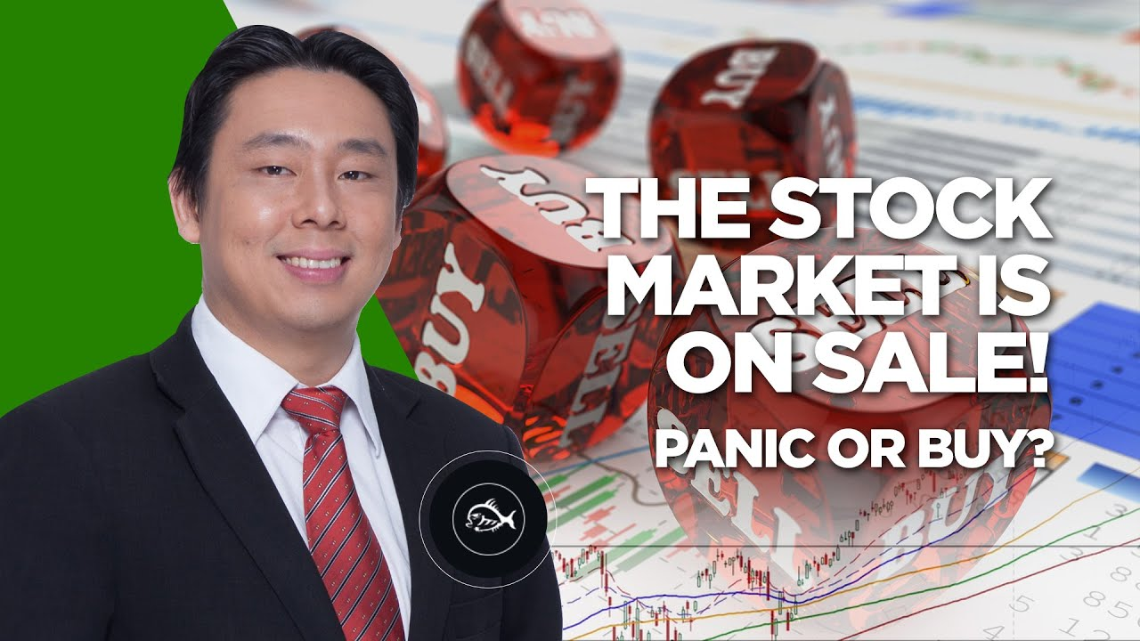 The Stock Market is On Sale! Panic Or Buy? By Adam Khoo