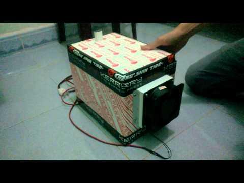 máy lạnh MINI tự chế