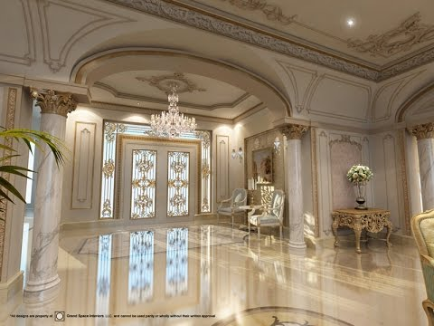 Luxurious palaces villas in dubai and around the world for Villa lotto interior design