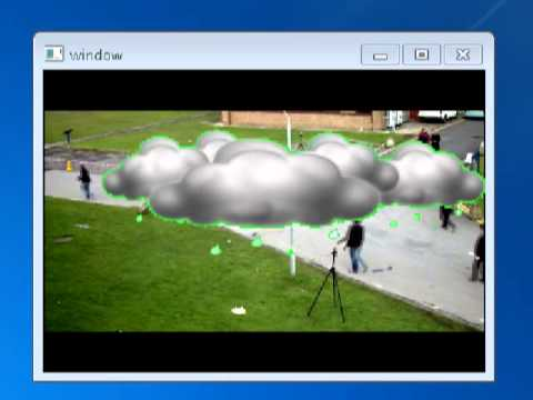 Merging Video with Opencv