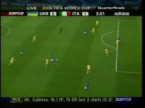 2a0dfa7a6a4 Zambrotta's great goal against Ukraine - YouTube