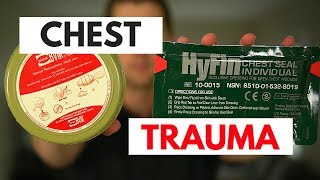 Chest Trauma Treatment: Blunt, Penetrating, Impaled