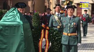 12 Octubre  La Guardia Civil celebra el Día del Pilar en la Plaza de la Catedral