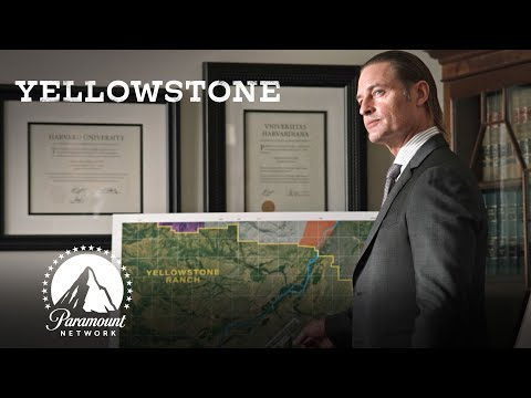 The Meeting Over Yellowstone Ranch's Future | Yellowstone | Paramount Network