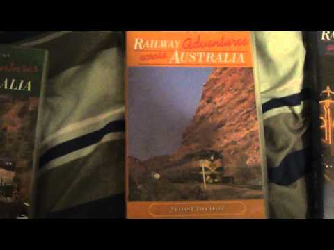 The Three 'Railway Adventures Across Australia' VHS Videos