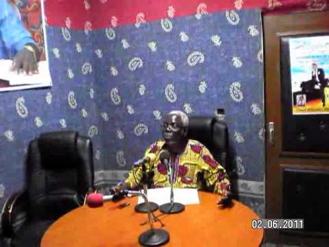 RADIO OCEAN 88.6FM STUDIO IN AKPAKPA COTONOU-BENIN