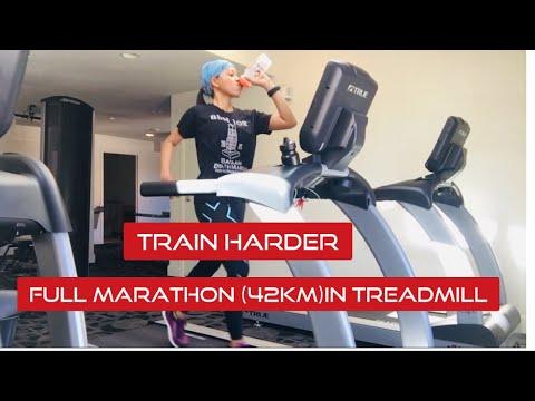 Full Marathon|(42km) Treadmill Running/ Pinay Runner In Colorado