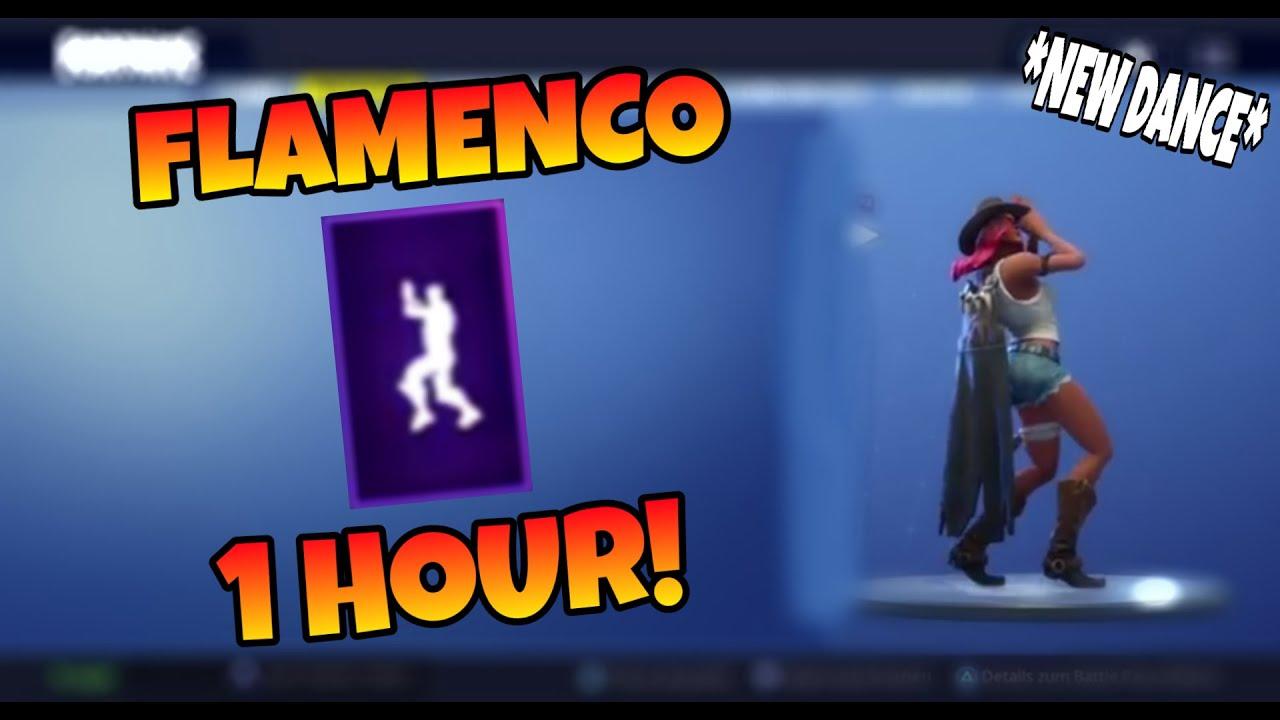 fortnite flamenco emote 1 hour season 6 - fortnite flamenco music