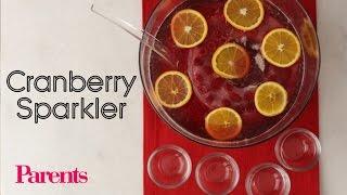 Cranberry Sparkler | Parents