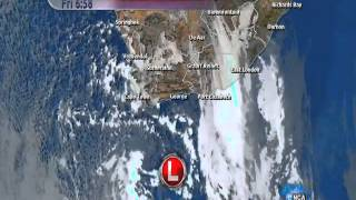 Winter storm approaches Cape Town