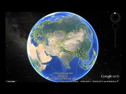 Azerbaijan Google Earth View