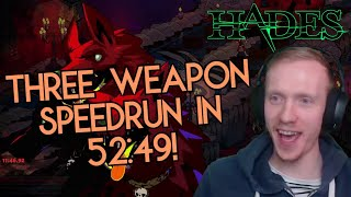 Taking our three fastest aspects out for this new speedrun category! /Hades/