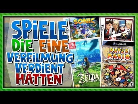 Spiele, die eine Verfilmung verdient hätten