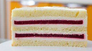 ТОРТ С ОЧЕНЬ ИНТЕРЕСНЫМ СОЧЕТАНИЕМ ВКУСОВ Рецепт торта с нежной прослойкой и ароматным бисквитом