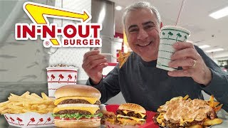 In-N-Out Mukbang (Eating Show) BURGER & ANIMAL FRIES