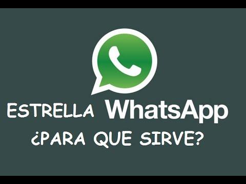 Estrella Whatsapp. Como funciona y para que sirve esta