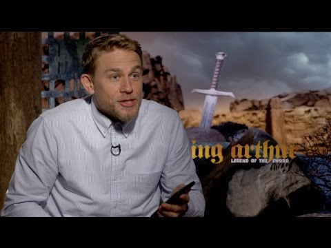 KING ARTHUR interviews - Charlie Hunnam and Guy Ritchie
