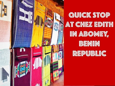 Travel Benin Republic: one night in Abomey. ZeeGoes BackPacking!